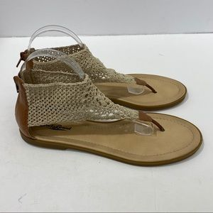 Lucky Brand Elastic Sandals Size 10M